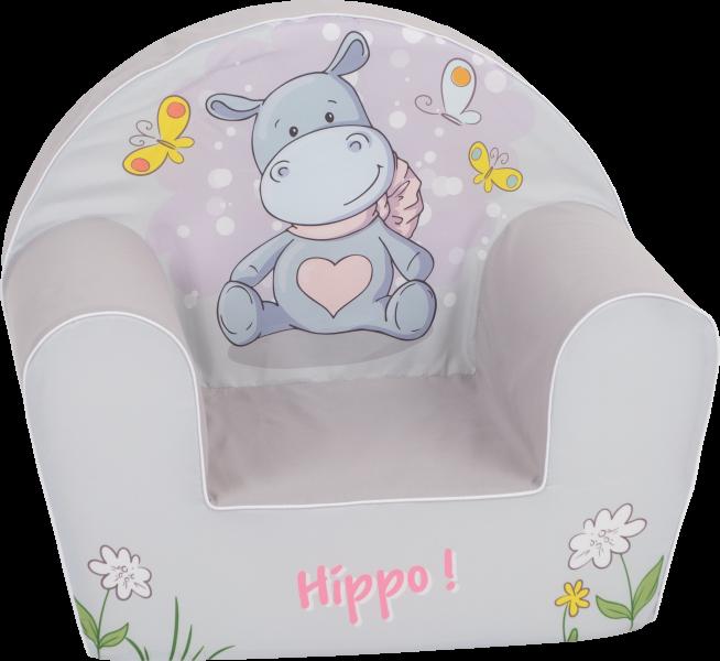 Delsit Detské kresielko, pohovka - Happy Hippo