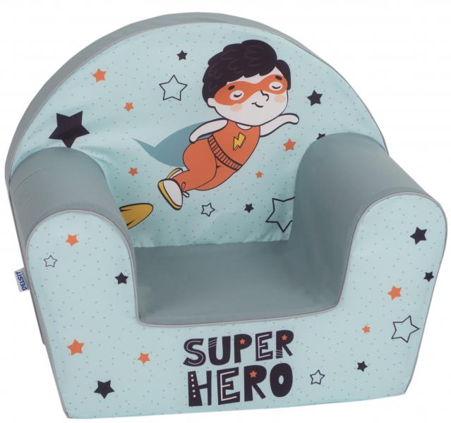 Delsit Detské kresielko, pohovka -  Super Hero