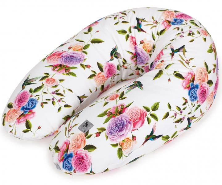 Ceba Dojčiace vankúš - relaxačné poduška Cebuška Physio Multi Flora & Fauna Flores