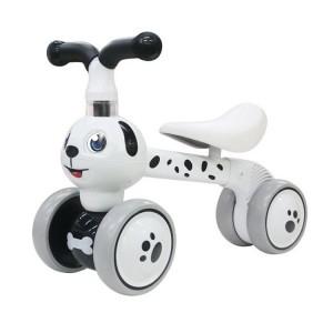 Odrážadlo / trojkolka Eco Toys, Psík - biely