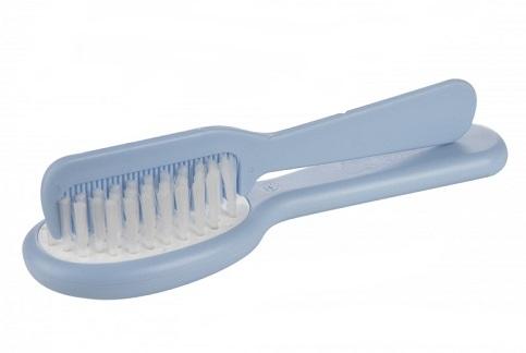 Hrebienok s kefkou na vlasy, Canpol Babies - sv. modrý