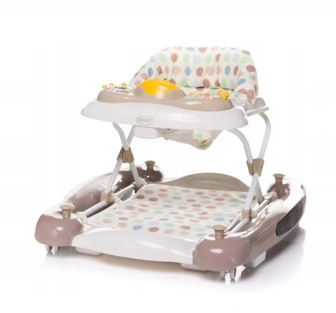 4 BABY Chodítko Swing'n GO XIX - hnedé