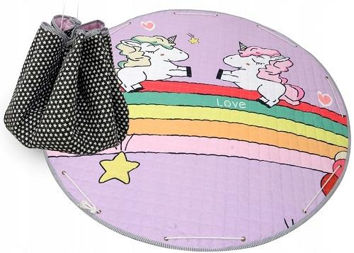 Tutumi Hracia deka - kôš na hračky 150 cm - Unicorm