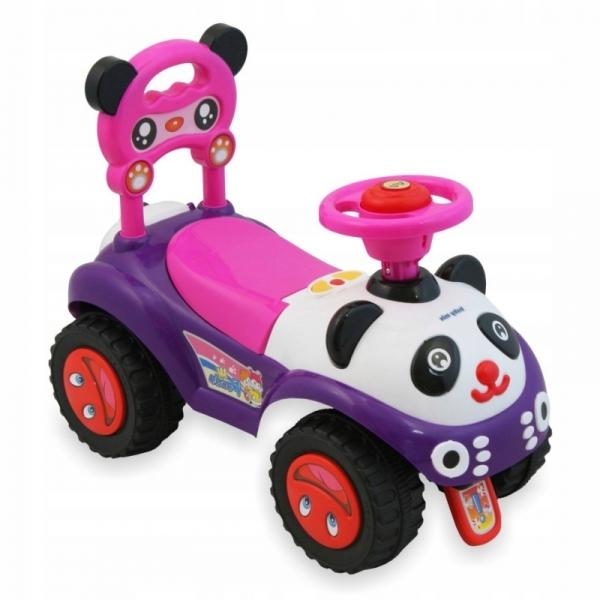 Detské Jezdítko Baby Mix Panda - růžový