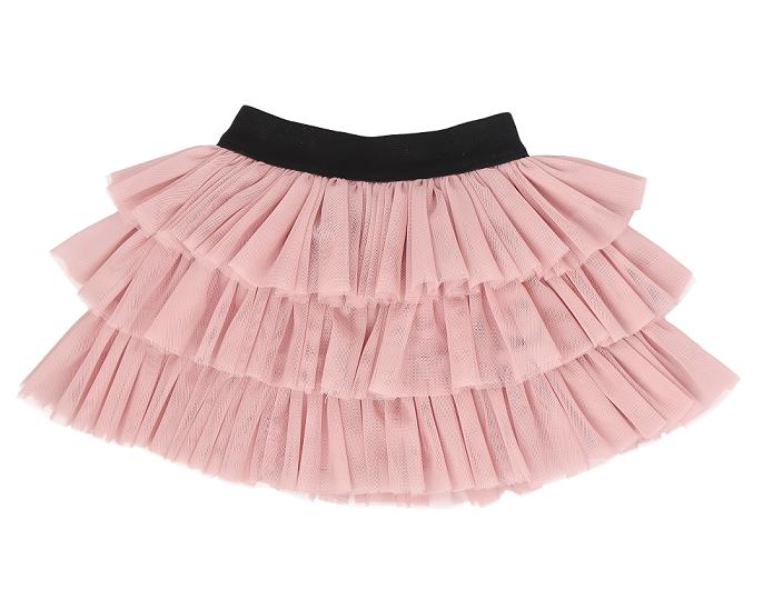 Detská tylová sukňa Tokio - ružová, vel. 104/110