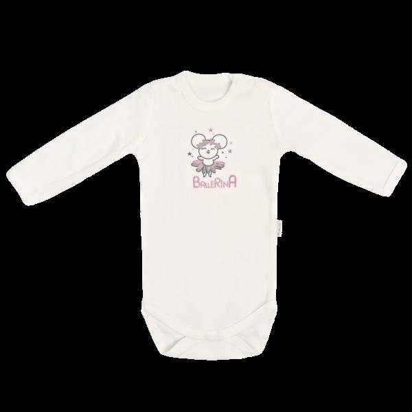 Mamatti Detské bavlněné body Lúka, veľ. 74-#Velikost koj. oblečení;74 (6-9m)