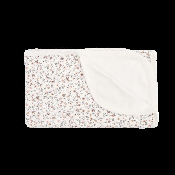 Mamatti Detská bavlněná deka, Lúka - 80 x 90 cm, ecru