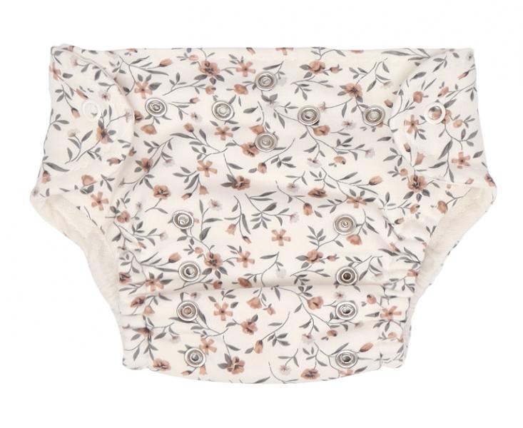 Mamatti Látková plienka EKO sada - nohavičky + 2 x plienka, veľ. 3 - 8 kg, Lúka