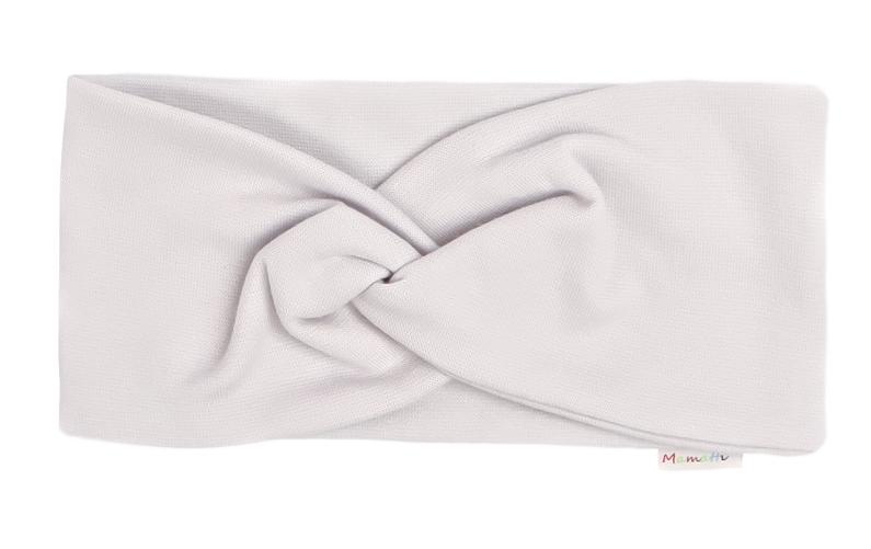 Mamatti Detská čelenka Lúka, sivá-#Velikost koj. oblečení;univerzální
