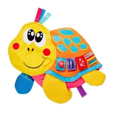 Plyšová hračka CHICCO s pískátkem Korytnačka