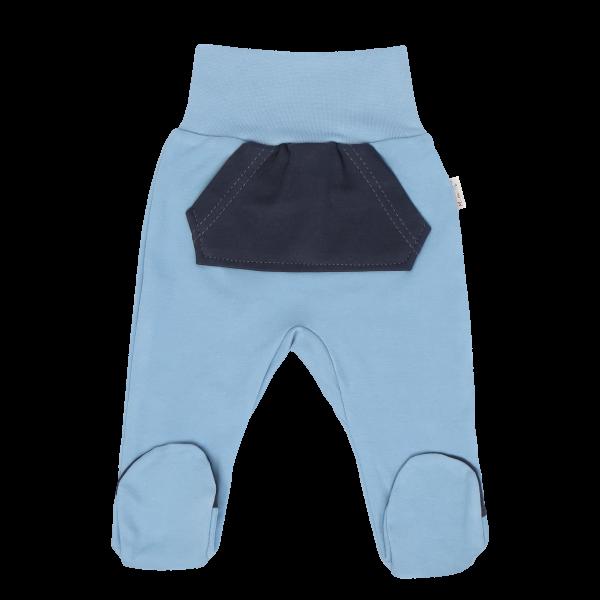 Mamatti Dojčenské polodupačky Happy - modré