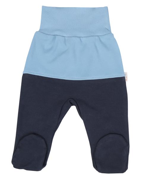 Mamatti Dojčenské polodupačky Happy - modré,granát