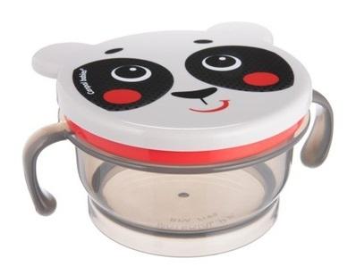 Canpol babies Uzatvárateľná miska Hello Little - panda