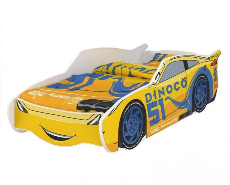 Nellys Detská posteľ Super Car DINO 160 x 80 cm