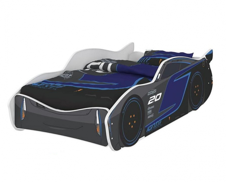 Nellys Detská posteľ Super Car STORM 160 x 80 cm