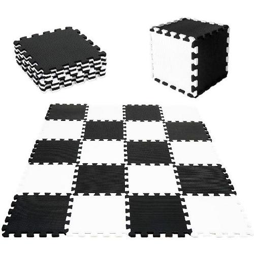 Tulimi Detske penové  puzzle 30 x 30 cm, hracia deka, podložka na zem - 10 ks