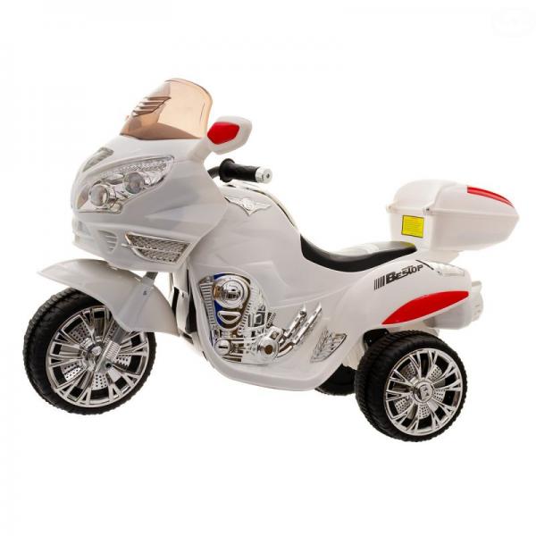 uro Baby akumulátorový motocykel - biely