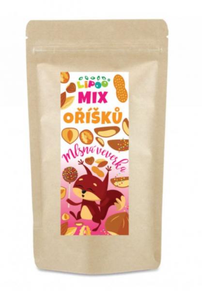 Mix orieškov - Mlsná veverička, 90g