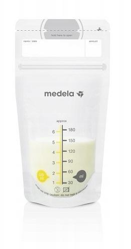 Medela Vrecká na uskladnenie materského mlieka, 180 ml