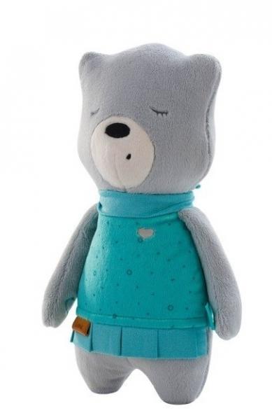 Szumisie šumiace maznáčik Medvedík Lena s aplikáciou 31 cm