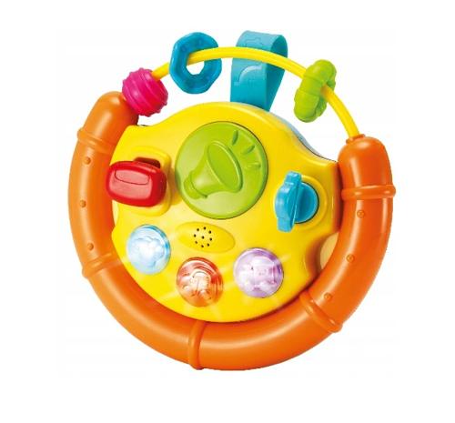 Smily Play Interaktívna hračka s melódiou Volant - oranžový