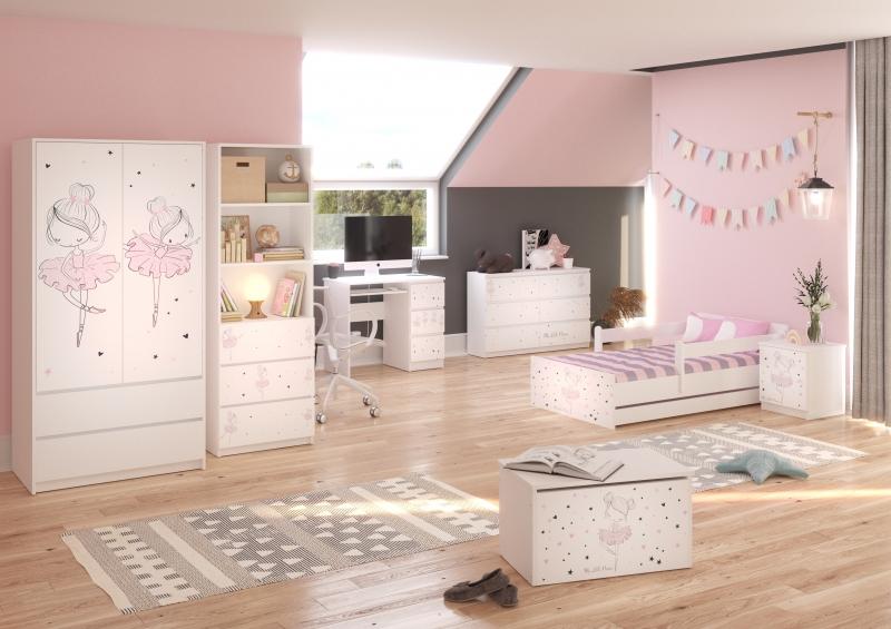 Babyboo Detská izba Baletka, 140x70 cm