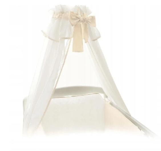 Ceba Baby Nebesia nad postieľku 160 x 270 cm - biela / krémová