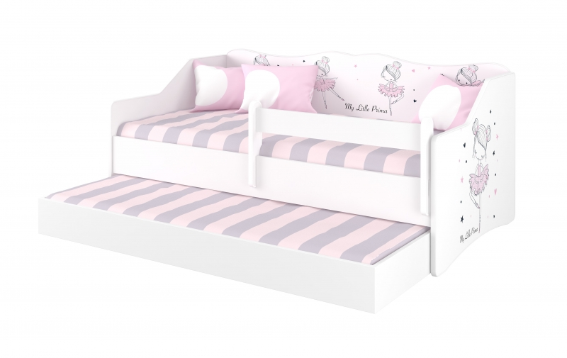 Babyboo Detská posteľ LULU 160 x 80 - Baletka