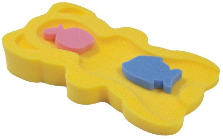 Tega Baby Matračka - huba na kúpanie bábätiek MIDI - žltá
