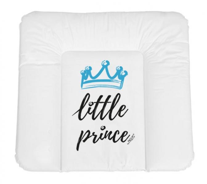 NELLYS Prebaľovacia podložka, mäkká, Little Prince, 85 x 72cm, biela