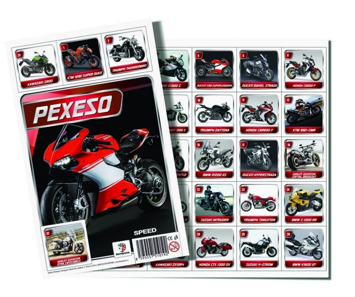Rappa Pexeso Moto Speed