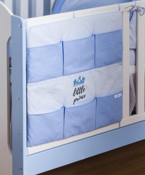 Baby Nellys Vreckár Little Prince - modrý