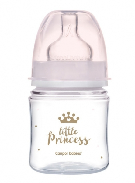Antikoliková fľaštička 120ml Canpol Babies - Little Princess