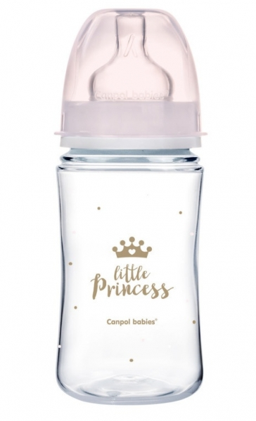 Antikoliková fľaštička 240ml Canpol Babies - Little Princess