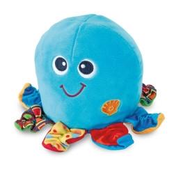 WINFUN Interaktívna plyšová hračka s melódiou - Chobotnica