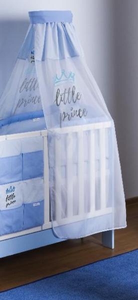 Baby Nellys Šifónová nebesá Little Prince - modrá