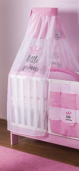 Baby Nellys Šifónová nebesá Little Princess - růžová