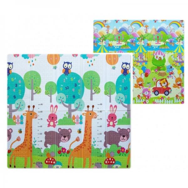 Milly Mally Skladacia penová podložka, 197 x 177cm - Play Giraffe