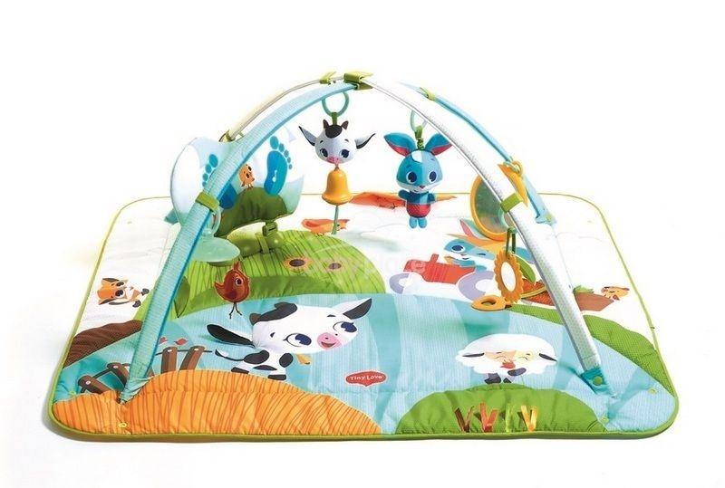 TINY LOVE Hracia deka s hrazdou Farma