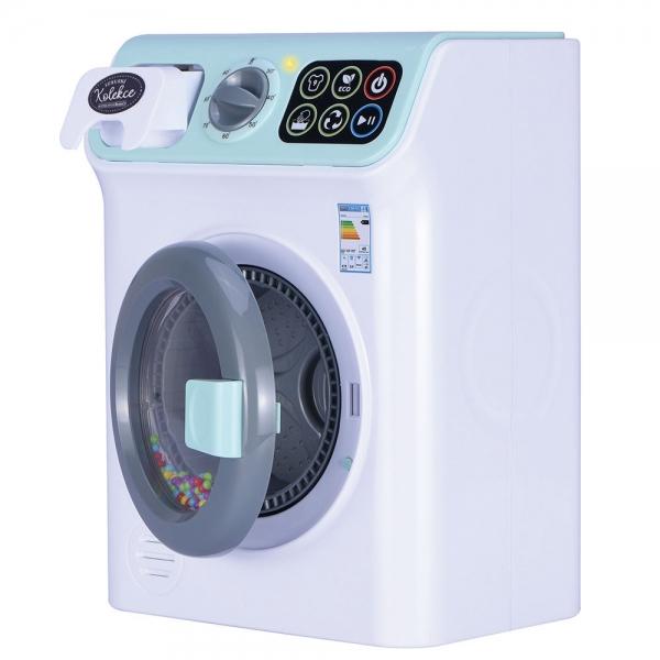 Práčka - luxusný spotrebič so zvukom a svetlom
