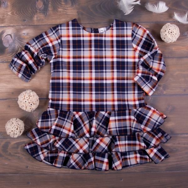 K-Baby Detské šatôčky Karko - granát, veľ. 110