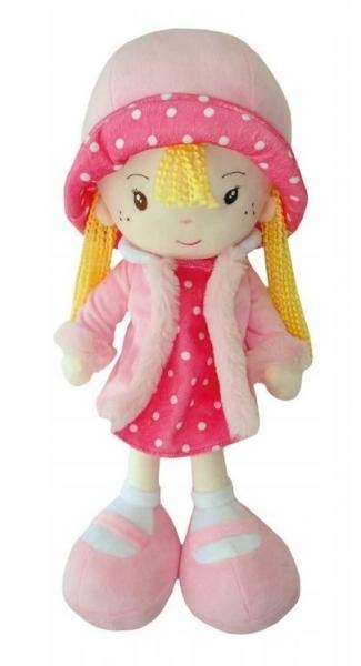 Smily Play, Handrová bábika s klobúčikom, blonďavé vlásky