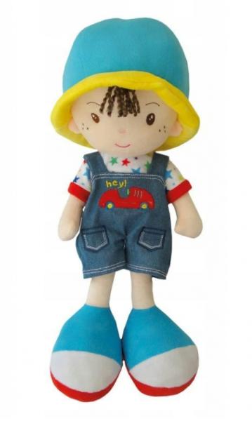 Smily Play, Handrová bábika / chlapček s klobúčikom, hnedé vlásky