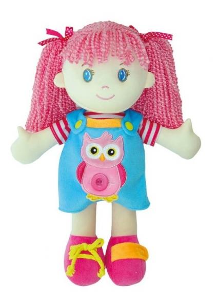 Smily Play, Handrová bábika Editka  - ružové vlásky
