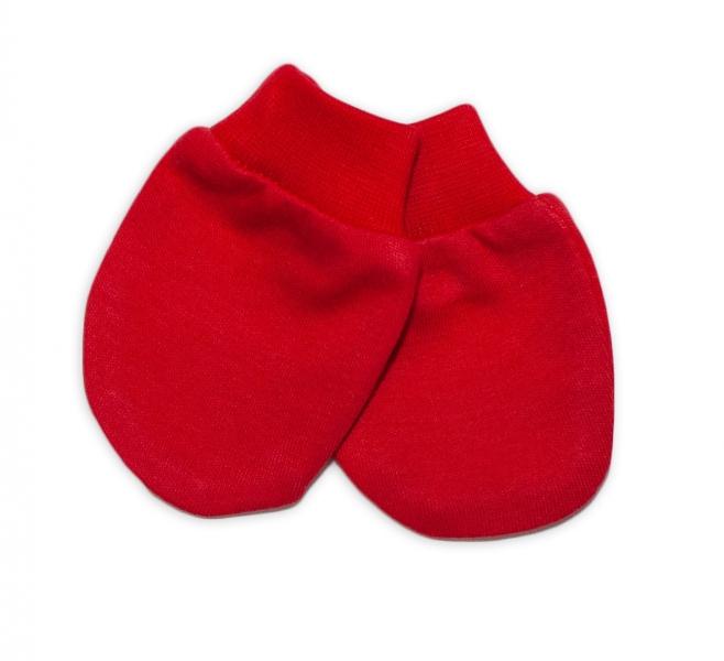 Mamatti Dojčenské rukavičky - červené