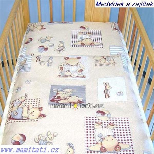 Krásny volánik pod matrac - Medvedík hračky