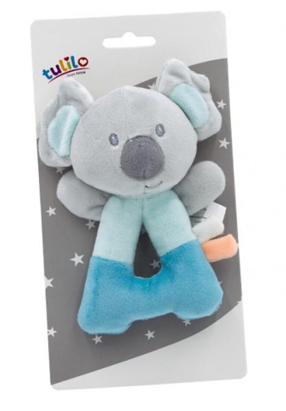 Tulilo Plyšová hrkálka Koala - mätová