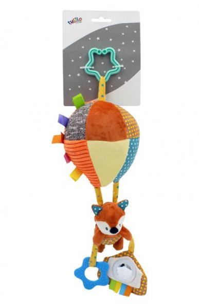 Tulilo Závesná plyšová hračka s rolničkou lietajúci balón - Liška