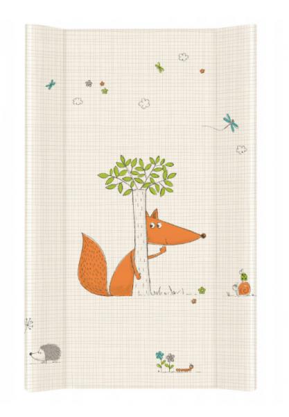 Ceba Baby prebaľovacia podložka Liška - tvrdá, 50x80 cm