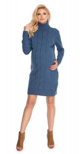 Be Maamaa Tehotenské šaty - svetrové, jeans